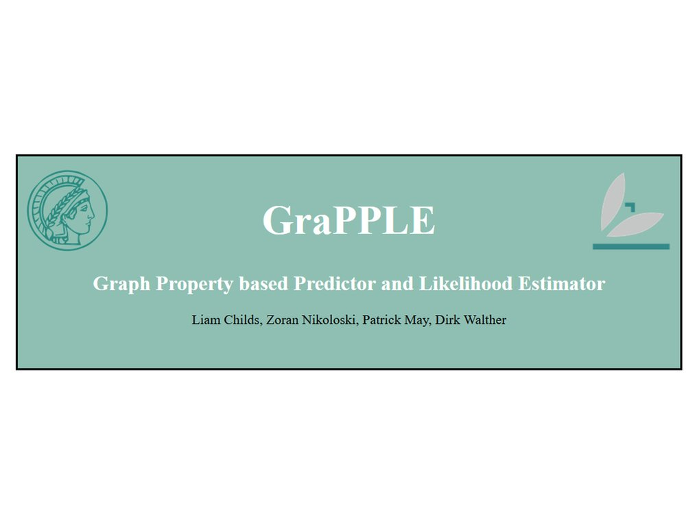 GraPPLE is a computational method for predicting functional non-coding RNA and classifying them to RNA families. The method relies on describing RNA structures as graphs, and introduces the use of associated graph properties as features in Support Vector Machines for prediction purposes.
